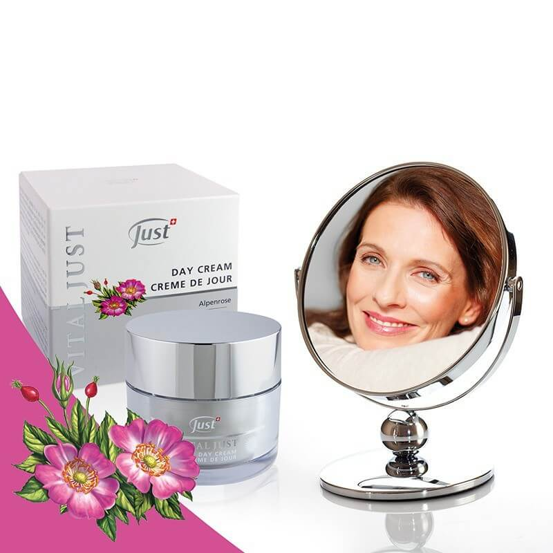 VITAL JUST Alpenrose Day Cream